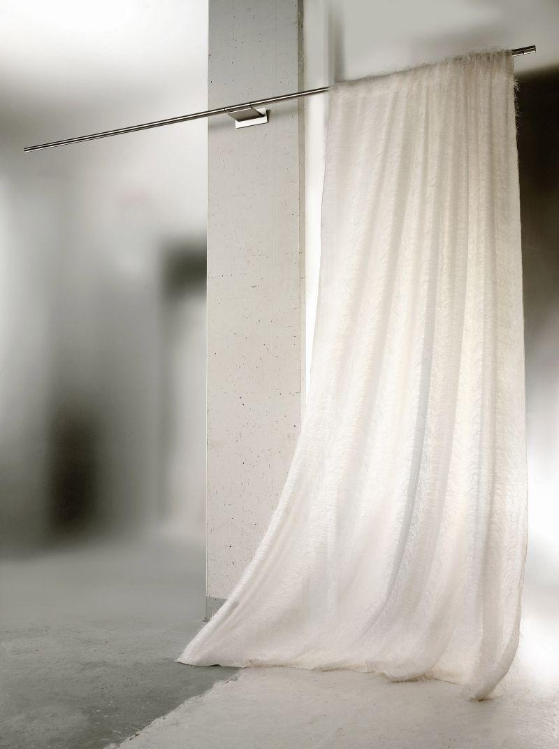 Gardinensysteme Decke gardinen schiene stange raumgestaltung reeh