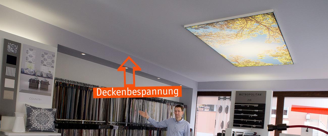 Deckenbespannungen raumgestaltung reeh for Raumgestaltung 24