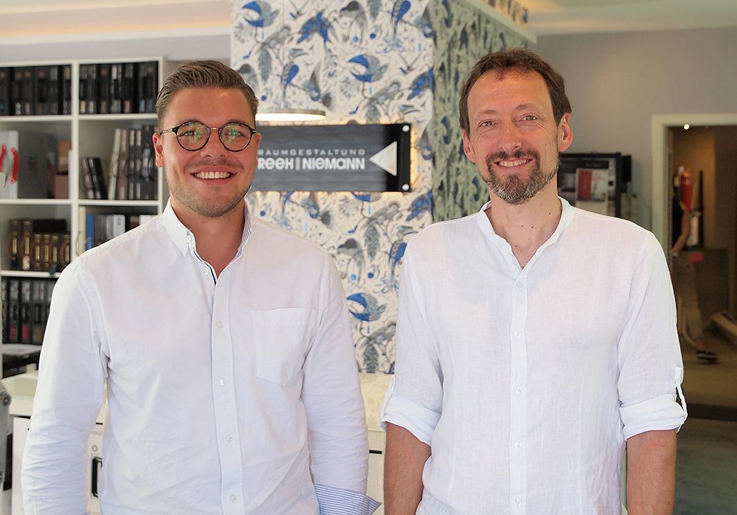 Niklas Niemann und Volker Reeh